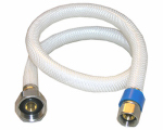 Larsen Supply Co, 10-2137 3/8 Compression x 1/2 Iron Pipe x 36-Inch Flexible Poly Faucet Connector