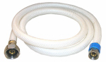 Larsen Supply 10-2149 3/8 Compression x 1/2 Iron Pipe x 48-Inch Flexible Poly Faucet Connector