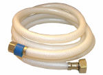 Larsen Supply Co, 10-2173 3/8 Compression x 1/2 Iron Pipe x 72-Inch Flexible Poly Faucet Connector