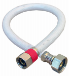 Larsen Supply 10-2317 Faucet Connector, Flexible Poly, 1/2 Compression x 1/2 Iron Pipe x 16-In.