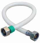 Larsen Supply 10-2413 Poly Faucet Connector, Flexible, 1/2 IP x 1/2 IP x 12-In.
