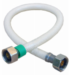 Larsen Supply 10-2417 1/2 Iron Pipe Size x 1/2 Iron Pipe x 16-Inch Flexible Poly Faucet Connector