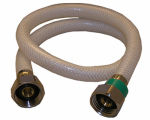 Larsen Supply 10-2425 1/2 Iron Pipe Size x 1/2 Iron Pipe x 24-Inch Flexible Poly Faucet Connector