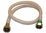 Larsen Supply 10-2431 1/2 Iron Pipe Size x 1/2 Iron Pipe x 30-Inch Flexible Poly Faucet Connector