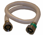 Larsen Supply 10-2437 Poly Faucet Connector, Flexible, 1/2 IP x 1/2 IP x 36-In.