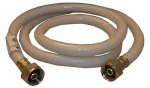 Larsen Supply 10-2449 1/2 Iron Pipe Size x 1/2 Iron Pipe x 48-Inch Flexible Poly Faucet Connector