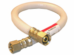 Larsen Supply 10-2516 3/8 Compression x 3/8 Compression x 16-Inch Flexible Poly Appliance & Faucet Connector