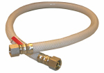 Larsen Supply 10-2524 3/8 Compression x 3/8 Compression x 24-Inch Flexible Poly Appliance & Faucet Connector
