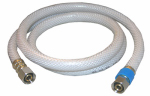 Larsen Supply 10-2534 Appliance & Faucet Water Supply Connector, Flexible Poly, 3/8 Compression x 3/8 Compression x 36-In.