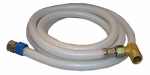 Larsen Supply 10-2573 Appliance & Faucet Connector, Flexible Poly, 3/8 Compression x 3/8 Compression x 72-In.