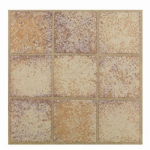 Max KD0201 Sandstone Peel & Stick Vinyl Floor Tile, 12 x 12-In.