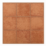 Max KD0203 Crimson Peel & Stick Vinyl Floor Tile, 12 x 12-In.