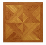 Max KD202 Parquet Peel & Stick Vinyl Floor Tile, 12 x 12-In.