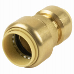 B&K 630-043HC Push On Reducer Coupling With Insert, .75 x .5-In.