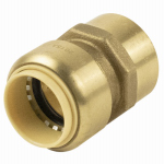 B&K 630-205HC Pipe Fitting, Push On Adapter, 1-In. Copper x Female