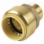 B&K 630-154HC 1 x 3/4-Inch Copper x Male Push On Adapter