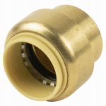 B&K 633-003HC Push-On Tube Cap With Pex Insert, 1/2-In.