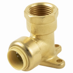 B&K 631-103HC Push-On Drop Elbow, 1/2-In. Copper x Female