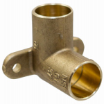 B&K A 62508NL Pipe Fittings, Drop Ear Elbow, Copper, 90 Degree, 1/2-In.