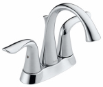 Delta Faucet 2538-MPU-DST Lahara Lavatory Faucet, Chrome Finish, 2-Handle