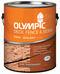 Olympic 58803A/01 Gallon Clove Brown Deck Stain