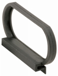 Prime Line Products PL 15753 Black Spline Channel Pull Tab, 25-Pack