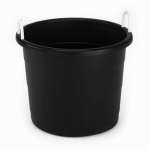 United Solutions TU0085 Rope-Handle Utility Tub, Blue, 17-Gal.