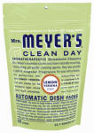 S C Johnson Wax 14264 Clean Day  Lemon Automatic Dishwasher Pack, 20-Ct.