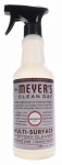 S C Johnson Wax 11441 Mrs. Meyers Clean Day, Lavender Scent Multi Surface Everyday Cleaner Trigger Spray,  16-oz.