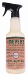 S C Johnson Wax 13441 Mrs. Meyers Clean Day, Geranium Scent Multi Surface Everyday Cleaner Trigger Spray,  16-oz.