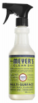 S C Johnson Wax 12441 Mrs. Meyers Clean Day, Lemon Verbena Scent Multi Surface Everyday Cleaner Trigger Spray,  16-oz.