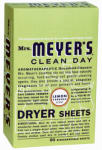 Mrs Meyers 14248 80CT Lemon Dryer Sheets