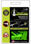 Wallclaw Anchors PCK-WC25-YS Hammer-In Drywall Anchors, 25-Pk.