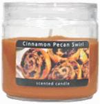 Candle Lite 2400549 Basics 3.5-oz. Cinnamon Pecan Swirl Scented WaxCandle Jar