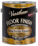 Rust-Oleum 242607 1-Gallon Varathane Semi-Gloss Clear Premium Polyurethane Floor Finish