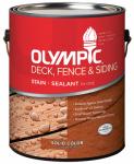 Olympic/Ppg Architectural Fin 53206A/01 1-Gallon Cedar Exterior Latex Deck/Fence/Siding Stain