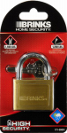 Hampton Prod Intl 171-50001 2-Inch Solid-Brass Pin Tumbler Padlock