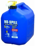 No Spill 1456 Kerosene Can, Carbon or Carbuerator Compliant, 5-Gal.