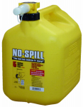 No Spill 1457 Diesel Can, Carbon or Carbuerator Compliant, 5-Gal.