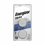 Eveready Battery 2032BP-2N Lithium Watch/Calculator Batteries, 3-Volt, 2-Pk.