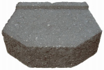 "Oldcastle 16200455 Castlewall 12""GRY Block"