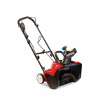 Toro Co M/R Blwr/Trmmr 38381 Electric Snow Blower, 18-In. 1800 Power Curve