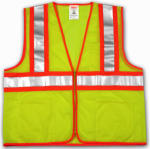 Tingley Rubber V70642.L-XL LG/XL Lime/YELSafe Vest