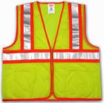 Tingley Rubber V70642.2X-3X 2X-3XLime/YEL Safe Vest
