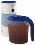 Sunbeam Products TM70 Iced Tea Maker With Pitcher, Blue, 3-Qts.