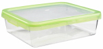 Oxo International 1124880 Food Storage Container, Rectangle, Green, 12.7-Cups