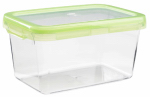 Oxo International 1124780 Food Storage Container, Rectangle, Green, 9.3-Cups