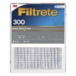 3M 300DC-H-6 Filtrete 16x20x1-In. Dust-Reduction Pleated Furnace Filter, Must Purchase in Quantities of 6