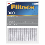 3M 301DC-H-6 Filtrete 16x25x1-In. Dust-Reduction Pleated Furnace Filter, Must Purchase in Quantities of 6