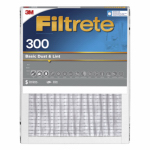 3M 312-6 Filtrete 24x24x1-In. Dust-Reduction Pleated Furnace Filter, Must Purchase in Quantities of 6